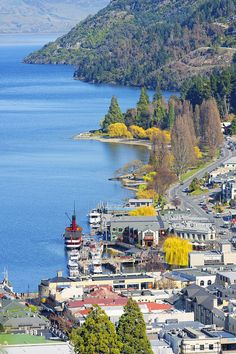 Queenstown And Lake Wakatipu, Queenstown, New Zaland