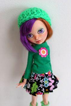 Ooak Custom Ever After High Monster High Doll Poppy O'Hair Repaint | eBay