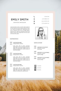 professional resume format - work resume template - amazing resumes - creative resume examples Modern Resume Template, Creative Resume Templates, Cv Template, Layout Template, Modern Resume Format, Professional Resume Format, Cv Format, Cv Cover Letter, Cover Letter Template