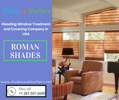 Here's a little #inspiration for your #window.  #Shades #romanshades #spring #Shutters