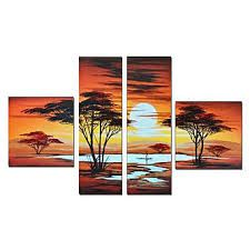 sunset oil painting - Google Search