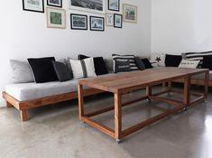 """Estudio V on Instagram: """"💥 Lunes cerrado 💥 #estudiovcomunidad"""" Entryway Bench, Dining Bench, Playroom, Instagram, Furniture, Home Decor, Industrial Table, Bedside Tables, Studio"""