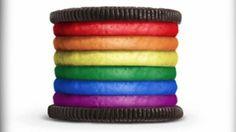 Rainbow Oreo - well done Oreo!
