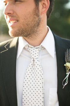 DOTTED tie, Lavender Farm photo shoot from Jihan Cerda Photography