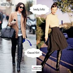 Como USar: Over The Knee Boots ou Cuissardes