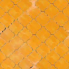 4 1/4 x 4 3/8 Terra Nova Hacienda Andaluz - Sunflower Yellow