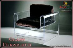 chair band glass furniture with shree rangkala glass design. customised available like band glass design , new creative ideas we can provides you good service. #service #bandglass #glass #chairglass #customised