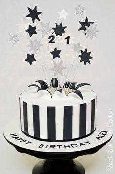 birthday cakes for men 21st Birthday Cake For Guys, Birthday Decorations For Men, Birthday Cakes For Men, Cakes For Boys, Birthday Cupcakes, Birthday Ideas, Male Birthday, 40th Birthday, Birthday Parties