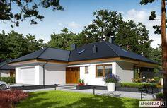 Projekty domów ARCHIPELAG - Astrid (mała) II G2
