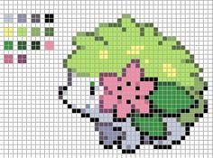 pokemon shaymin cross stitch pattern - Google Search