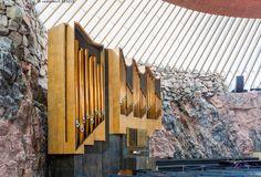 Temppeliaukion kirkon urut - nähtävyydet nähtävyys Helsinki urut Temppeliaukion kirkko evankelis-luterilainen evankelisluterilainen kaunis kiviseinä luterilainen luterilaisuus sisältä upea uskonto