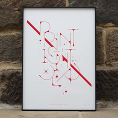 Gallery: Magnificent Typography Designs | From up North