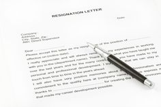 7 Best Professional resignation letter images