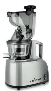 Buy this NutriChef PKSJ40 Countertop Masticating Slow Juicer Juice and Drink Maker with deep discounted price.