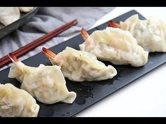 새우만두 만들기, 새우만두속도 간단하게~ 새우만두 만드는법 쉬워요! [Shrimp Dumplings] - YouTube