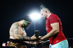 Rory Best Photos Photos - A Maori warrior presents the match Taiaha to Rory Best of the Lions after the match between the Chiefs and the British & Irish Lions at Waikato Stadium on June 2017 in Hamilton, New Zealand. - Chiefs v British & Irish Lions Ulster Rugby, Visit Northern Ireland, British And Irish Lions, Rugby Club, Duchess Of Cornwall, Hamilton, New Zealand, Cool Photos, June