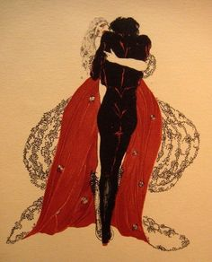 """amoelbarroco: """" Illustration for Les liaisons dangereuses by Alastair Via """" makes me think of the end of edgar allan poe's the masque of red death. it's one of my favorite stories of his! Art Deco Artists, Art Nouveau, Dark Art, Les Oeuvres, Art Inspo, Art Reference, Ex Libris, Cool Art, Art Photography"""