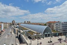 MONTPELLIER SAINT-ROCH MULTIMODAL TRANSPORT HUB by AREP as Architects