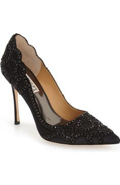 Badgley Mischka 'Rouge' Pointy Toe Pump (Women) available at #Nordstrom