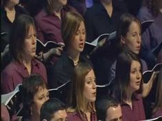 Sanctus by Karl Jenkins-Sanctus Missa L'homme armé. Orchestra of the Welsh National Opera, and four Welsh choirs, conducted by Jenkins himself on the occasion of his 60th birthday in February 2004. It was filmed in St David's Hall Cardiff