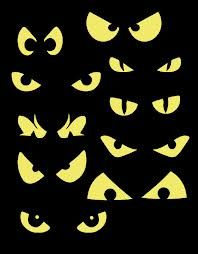 spooky eyes clipart creature eyes clipart monster eyes cat eyes rh pinterest com spooky eyes clipart free Scary Eye Drawing