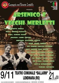 Arsenico e vecchi merletti - ispirata all'omonima opera di J. Kesselring