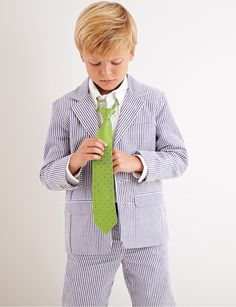 From CWDkids: Blue Seersucker Outfit Boys Fashion Dress, Boys Fall Fashion, Fashion Dress Up Games, Boy Fashion, New Outfits, Kids Outfits, Cool Outfits, Cool Boys Clothes, Fiestas