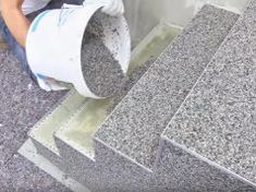 Latest Technology 2017 Modern Stairs Tiles Design Building Work Latest Technology 2017 This Channel Showing All Building Works if You Want Promote Your Video.Amazing creative construction worker You need to see.in 2019 Install natural stone flooring Stairs Tiles Design, Tile Design, Floor Design, Patio Steps, Diy Patio, Simple Furniture, Furniture Design, Furniture Plans, Kids Furniture