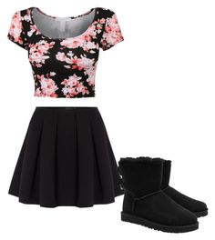 """Untitled #3"" by katelynd66 on Polyvore featuring Polo Ralph Lauren and UGG Australia"