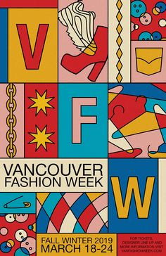 Vancouver Fashion Week Poster 2019 by can find Poster design and more on our website.Vancouver Fashion Week Poster 2019 by Vintage Graphic Design, Graphic Design Posters, Graphic Design Typography, Graphic Design Illustration, Fashion Graphic Design, Simple Poster Design, Poster Designs, Graphisches Design, Logo Design