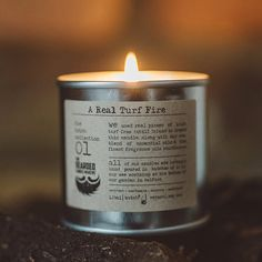 Our real turf fire candle is a true reminder of home and childhood in Ireland. We've distilled the very essence of our earth into this candle, along with delicious essential oils for a warm, woolly hug in a candle! This natural candle is a great new home gift, or special treat for