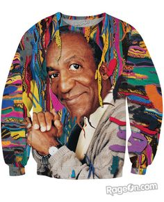 Cosby Crewneck Sweatshirt - RageOn! - The World's Largest All-Over-Print Online Store