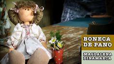 DIY - Boneca de pano Carina (Magdalena Dinamarca)