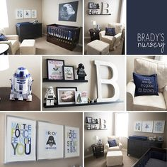 Star Wars Baby Nursery | Star Wars nursery | Baby Boy Bishop | Pinterest