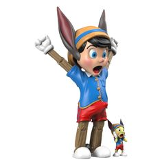 A Wood Awakening Donkey BFF Edition (JAN2021) #awoodawakening #donkeybff #jucegace #mightyjaxx #fatsuma #pinocchio #jiminycricket #collectible #toy #designertoy #vinyltoy #arttoy #instagood #beautiful #love #art #fashion #new Jiminy Cricket, Pokemon Charizard, Artist Branding, La Colors, Astro Boy, Good Smile, Vinyl Toys, Mickey Minnie Mouse, Pinocchio