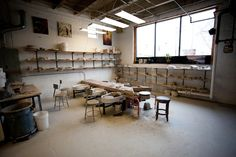 Amazing ceramics studio in Logan Square in Chicago.  They have great kids events and even BYOB Happy hours!! http://penguinfoot.com/