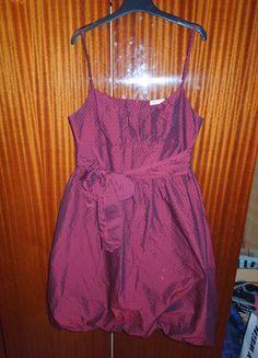 Kupuj mé předměty na #vinted http://www.vinted.cz/damske-obleceni/kratke-saty/9322571-tmave-cervene-saty-orsay