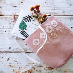 Yumiko Higuchi Embroidery with felt flowers