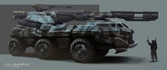 Futuristic Military Vehicles | Concept cars and trucks: Concept military vehicles by Sergey ...