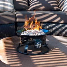 Sunward Patio Portable Outdoor BTU Propane Fire Pit / Fire Bowl/Lava Rocks, Carry Handle, Lid and Weather Resistant Bag Included! For Sale Natural Gas Fire Pit, Metal Fire Pit, Wood Burning Fire Pit, Diy Fire Pit, Propane Patio Fire Pit, Propane Fire Bowl, Fire Pit Backyard, Sunken Fire Pits, Concrete Fire Pits
