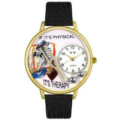 Physical Therapist Watch in Gold (Large)