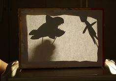 Shadow THEATER from CEREAL BOX