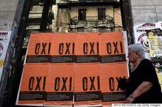 greece: oxi = no