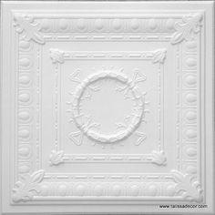 Polystyrene ceiling tile RM-47