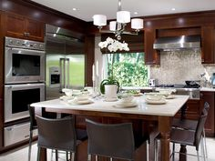 kitchen designs photo gallery | Kitchen Design Guide: Kitchen Colors, Remodeling Ideas, Decorating ...