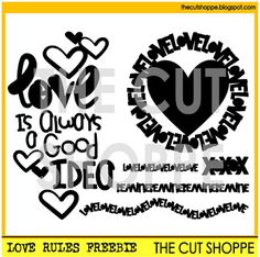 The Cut Shoppe: The Cut Shoppe Feel the Love Blog Hop!