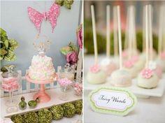 Fairy wand cake pops