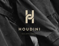 Houdini Logo Very clever design, the design of the logo matches with the 'product' they are selling which is 'escape artiest'