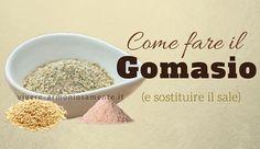 La ricetta del gomasio è davvero semplice da fare in casa. Le sue proprietà lo rendono un valido sostituto del sale. Si può usare il gomasio nelle zuppe...