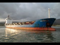 Fehn Mistral depart Warrenpoint Harbour